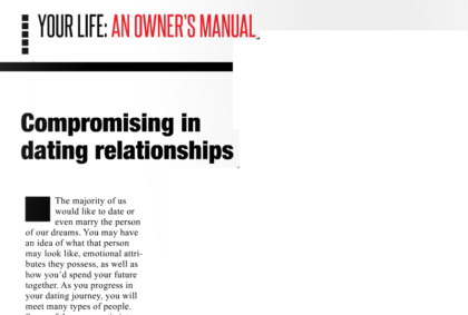 Compromising in your dating relationship