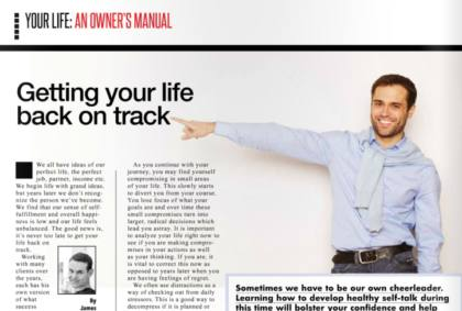 Getting your life back on track