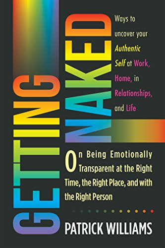 Getting Naked - being emotionally transparent.