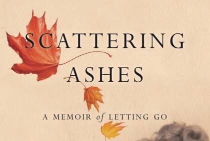 Book cover for Scattering Ashes - abusive parent